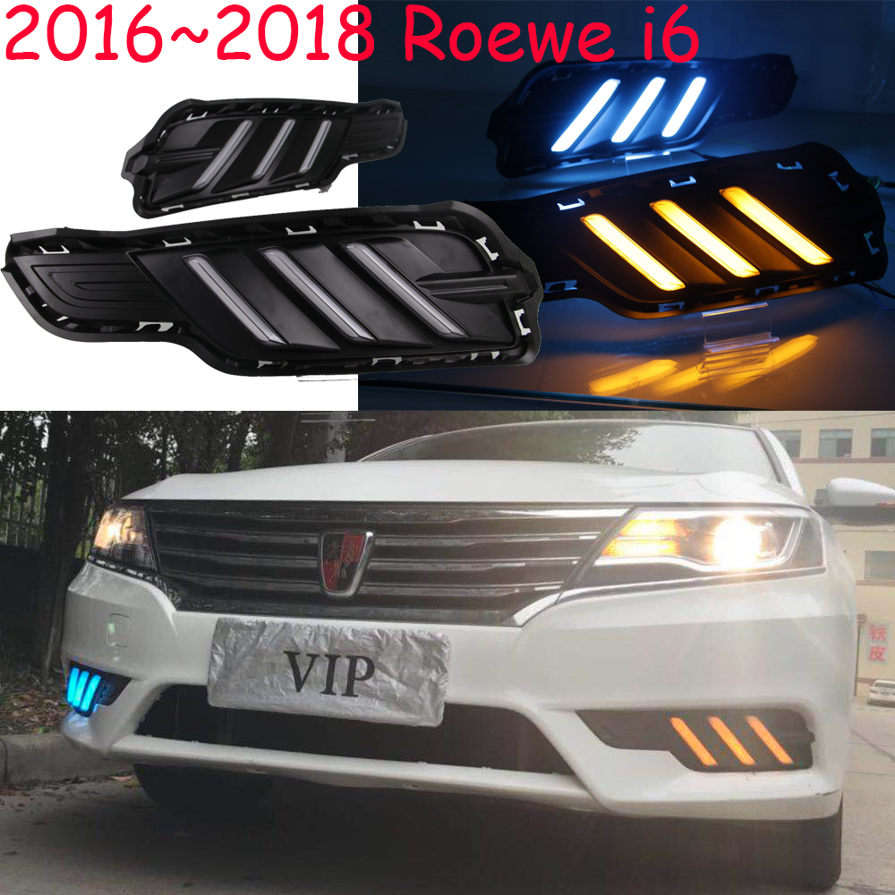 2016~2018year for Roewe i6 daytime light car accessories LED DRL headlight for Roewe i6 fog light