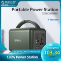 ORICO Tragbare Power Station PD Lade 220V 120W Backup Batterie AC Outlet 39000mAh Typ C Schnell Ladung für Outdoor