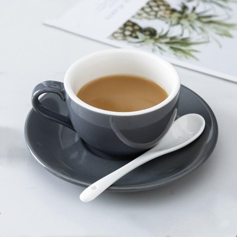 Jia-gui luo 150 мл высококачественные керамические кофейные чашки набор кофейных чашек простой европейский стиль капучино Цветочные чашки латте