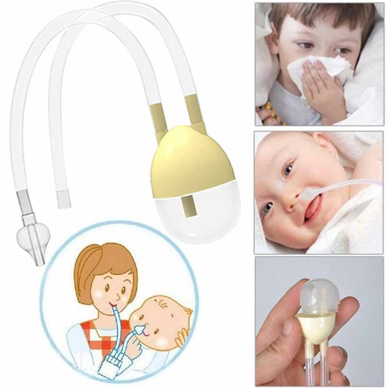 Baby Safety Nasal Mucus Runny Aspirator Nose Cleaner Vacuum Suction Healthy Nasal Aspirator High Quality 2019