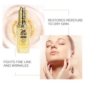 Image 3 - Neutriherbs 24 K Gold Serum Gesicht Serum mit hyaluronsäure Pflege Essenz Befeuchten und Aufhellung Haut