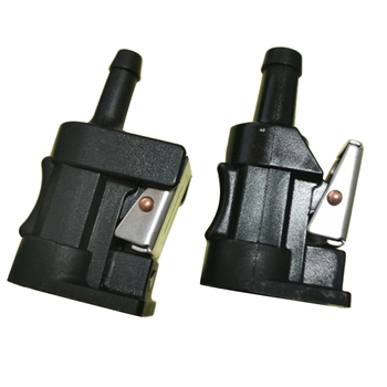 2 pcs Marine Outboard Fuel Line Engine Side & Tank Conncector for Yamaha (5/16 inch Female) boat fuel filter marine engine fuel water separator for mercury yamaha outboard 10 micron