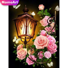 MomoArt 5D DIY Diamond Painting flowers Cross Stitch Embroidery Full Square Picture Rhinestones Home Decoration 30x30cm diy 5d diamond embroidery square diamond picture flowers arranging square rhinestones diamond painting cross stitch