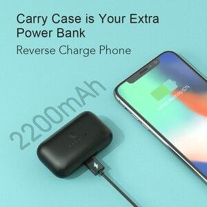 Image 2 - Haylou Bezprzewodowe słuchawki ze sterowaniem dotykowym, zestaw słuchawkowy, T15, 2200 mAh, HD, Stereo, izolacja hałasu, Bluetooth, z wyświetlaniem stanu baterii