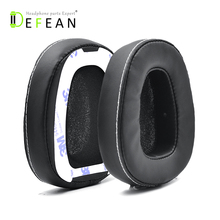 Defean 1 Pairs Black Ear pads cushion with tape for Skullcandy Crusher Over Ear Wired Headphone