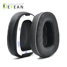 Defean 1 Çift Siyah Kulak pedleri yastık için bant ile Skullcandy Kırıcı Aşırı Kulak Kablolu Kulaklık