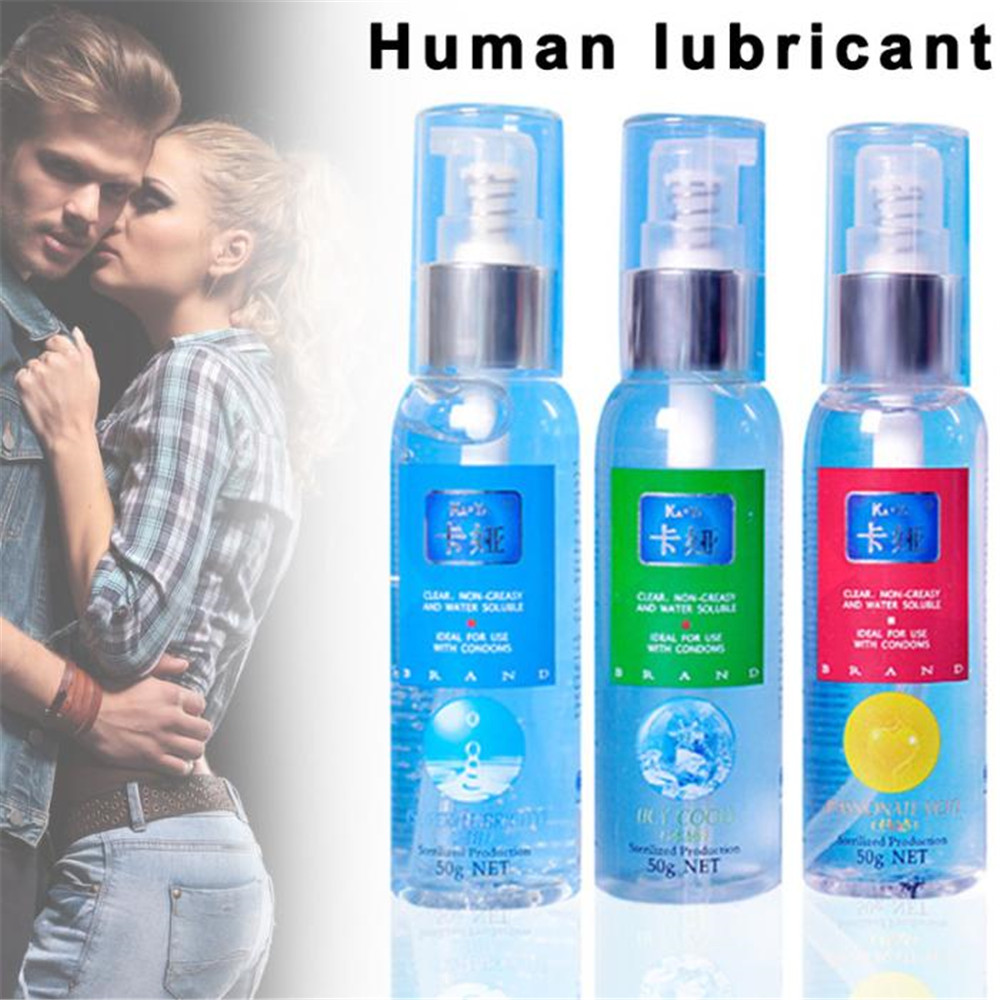 50ML Lubricant For Sex Lube Lubricante Easy To Clean Sex Lubricant For Oral Vagina Anal Sex Gel Gay Lubricants Sex Product