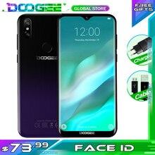 """업그레이드 3GB + 32GB DOOGEE Y8 안드로이드 9.0 스마트 폰 6.1 """"FHD 19:9 디스플레이 3400mAh MTK6739 4G LTE 모바일 물방울 스크린"""