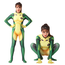 DM COS 2019 New Cosplay3D Digital Printing X-MEN X-Men Baby Naughty Raksha Female Cosplay One-piece Tights Suit Holiday Costumes all new x men vol 5 one down