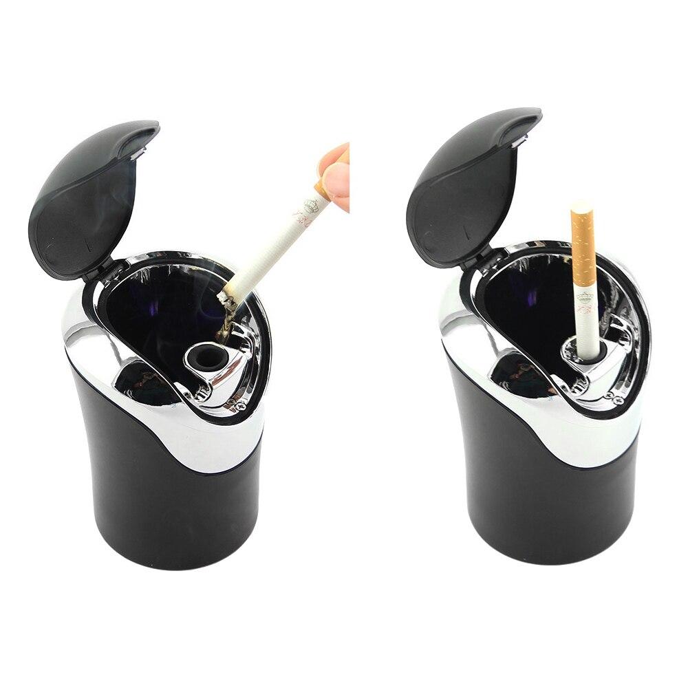 LEEPEE держатель для хранения чашек Многофункциональный цилиндр дыма пепельница для сигарет Пепельница для автомобиля аксессуары для интерь...