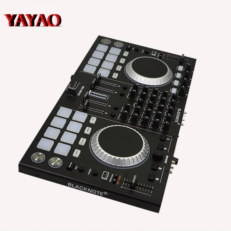 Controller To Players Playing Disc Audio Mixing Console Sound Mixer Mesa De Mezclas Dj DMX Stage Light