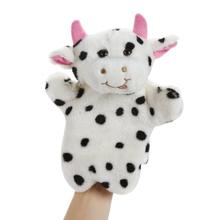 Cute Baby Kids Child Soft Doll Plush Toys Hand Puppet Milk Cow Hand Puppet Baby Kids Child Educational Soft Doll Plush Toy