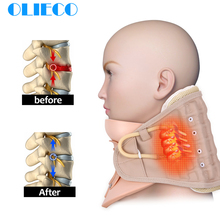Inflatable Cervical Neck Traction Collar Neck Support Massag