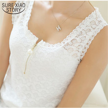 2019 Fashion Summer Style Ladies Tops With Lace Patchwork Fi