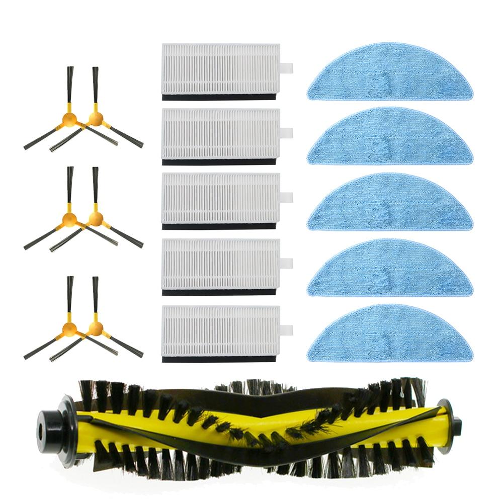 Набор аксессуаров для робота пылесоса NEATSVOR X500/X600, боковая щетка, фильтр, Швабра, круглая Запчасти для пылесоса      АлиЭкспресс