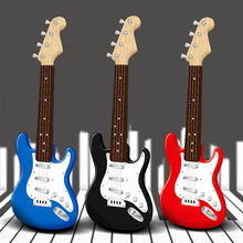 Multifunctional Electronic Guitar Bass Can Play Guitar Musical Toys Children'S Simulation Musical Instruments Birthday Gift