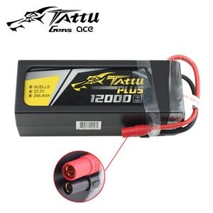 TATTU PLUS 12000mAh 15C 22.2V 6S1P FPV Lipo inteligentna bateria z wtyczką AS150 dla RC Drone