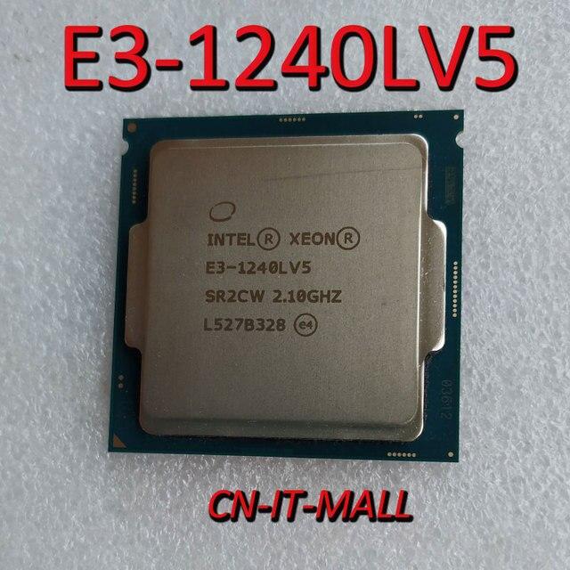 Intel Xeon E3 1240LV5 מעבד 2.1GHz 8MB Cache 4 Core 8 אשכולות LGA1151 מעבד