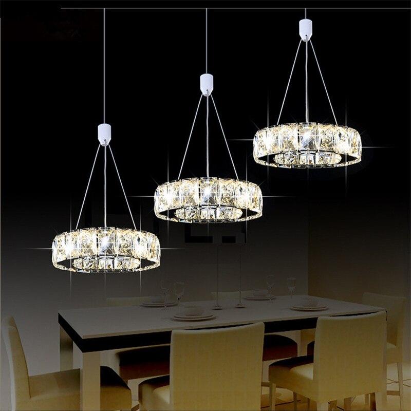 Cristal bougeoir luxe argent jardin cristal LED lustre lumière lustre lampe luminaire moderne lustre éclairage - 4