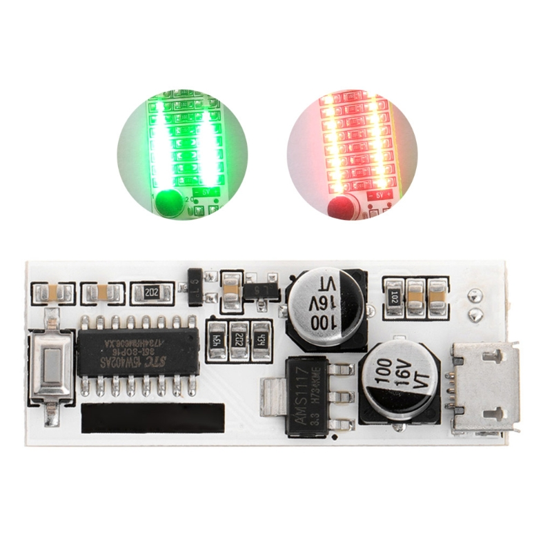 2019 New USB Mini Music Spectrum Light 2x13 LED Board Voice Control Sensitivity Adjust Instruments And Apparatus