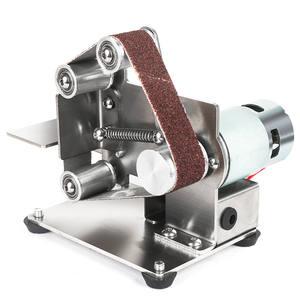 Cutter Grinder Belt-Sander Edges-Sharpener Polishing-Grinding-Machine Electric Mini DIY