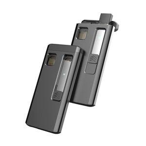 Image 4 - Juul 전자 담배에 대 한 1200 mah 휴대용 충전 상자 유니버설 충전기 케이스 juul 액세서리에 대 한 3 번