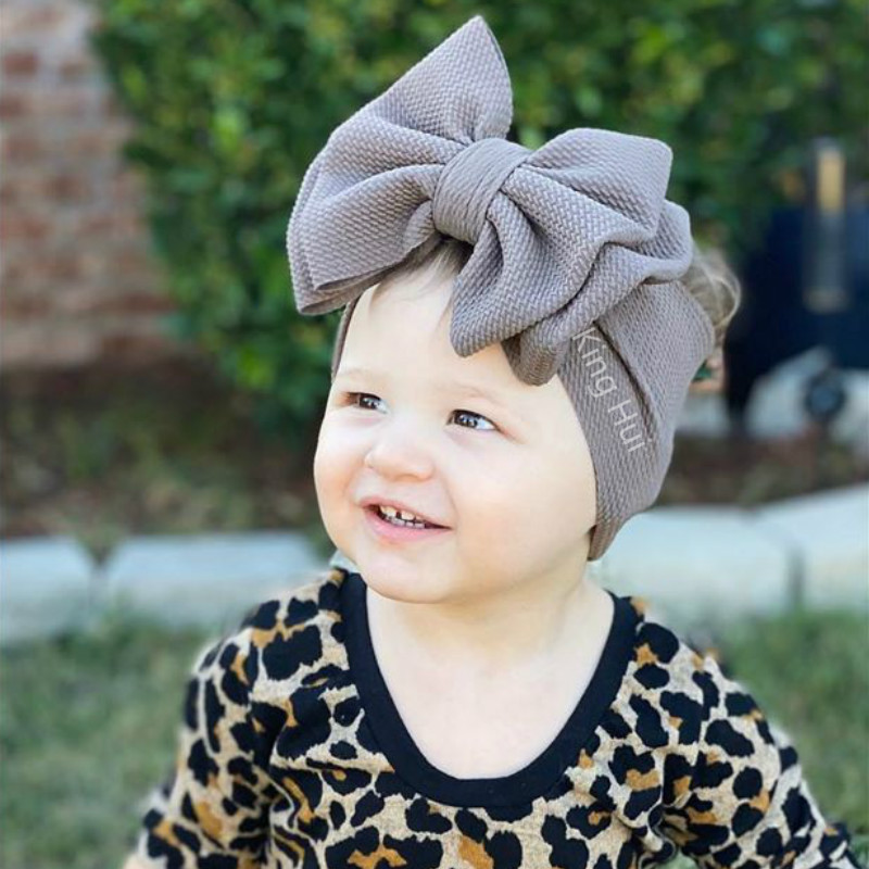 Baby Headband Baby Girl Headbands For Girls Bandeau Bebe Fille Baby Turban/headwraps/bows Baby Hair Accessory Diademas Para Bebe