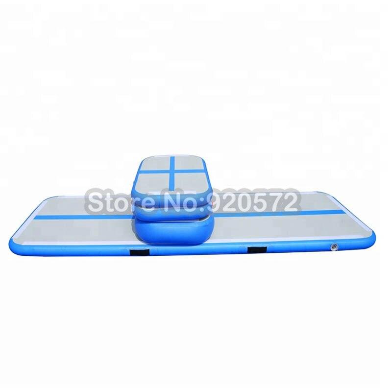 Набор небольшой надувной коврик для прыжков гимнастический воздушный сушильный трек, надувной спортивный воздушный трек для использования в спортзале в помещении Бесплатная доставка