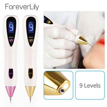 9 Level Tattoo Freckle Removal Laser Plasma Pen Sweep Mole Wart Dark Black Spot Skin Tag Remover Face LCD Plasma Pen 1