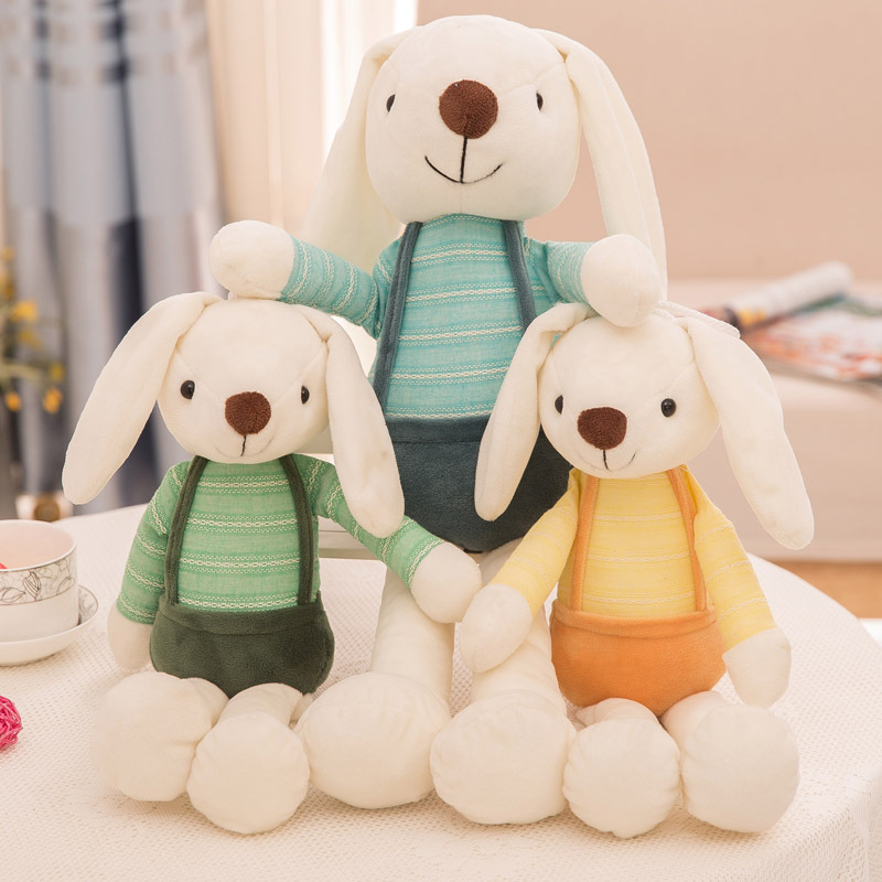 Stuffed & Plush Animals Popular Toys Sugar Candy Rabbit Plush Toy  2019 New Long-Eared Rabbit Doll Cute Fairytale Birthday Gift
