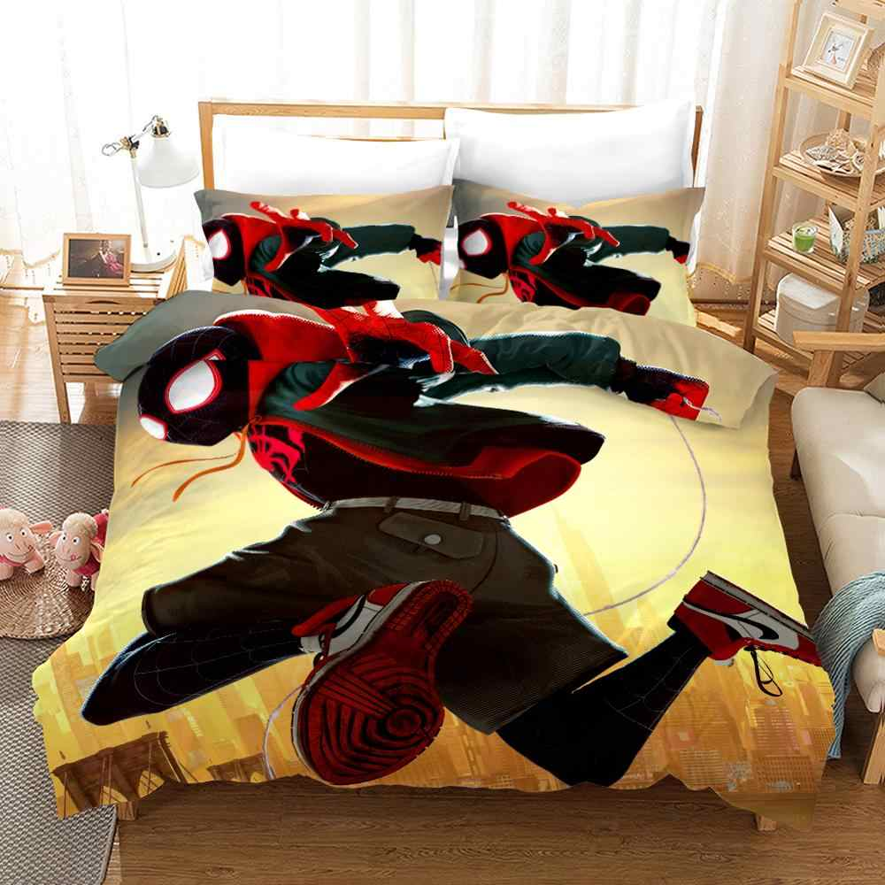 marvel hero spider man bedding set cal king size bed sheets for boy s quilt duvet covers twin bedspread children s summer queen