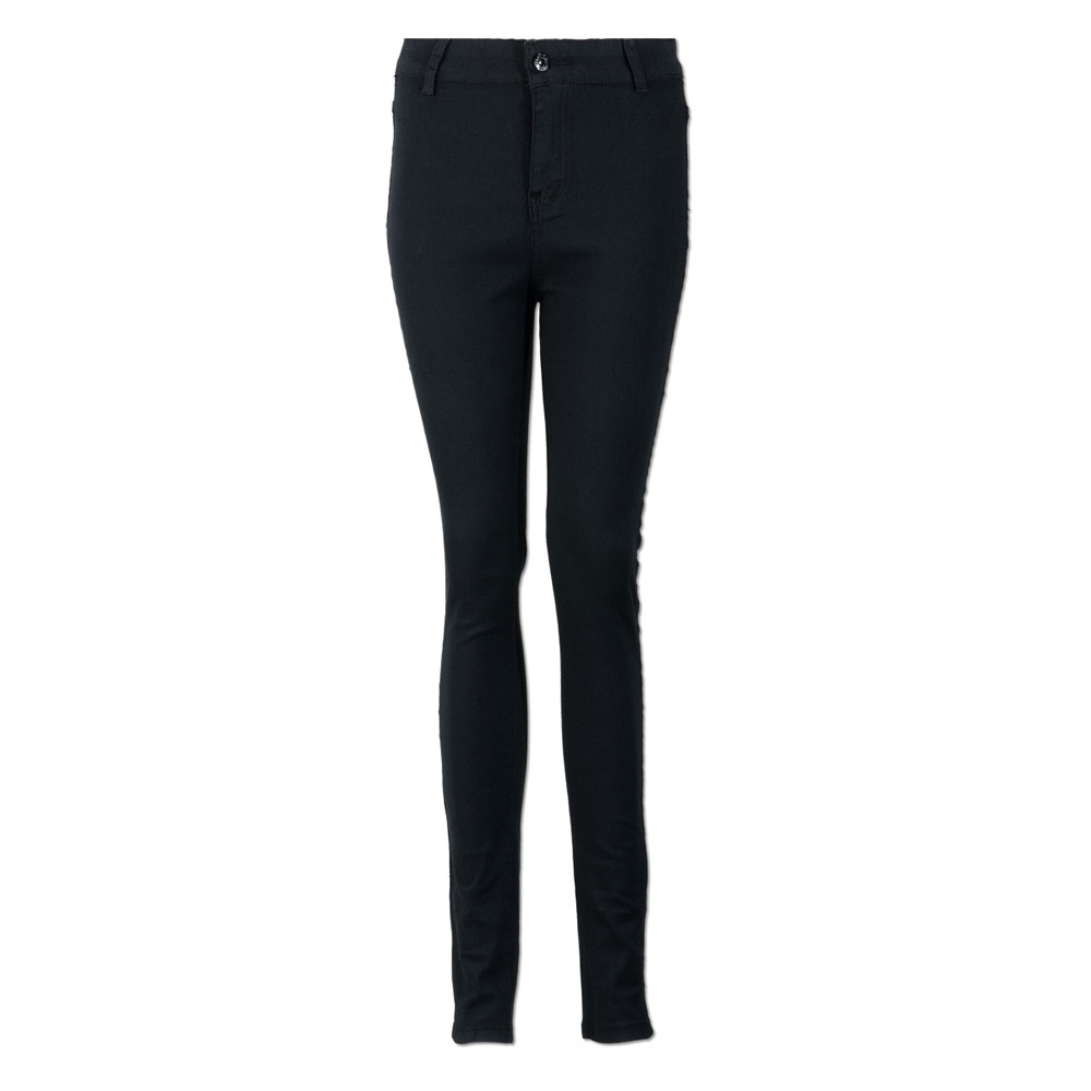 Jaycosin New Fashion Ladies Casual Skinny Hight Waisted Slim Jeans Elastic Stretch Trousers Length Washed Jeans Female 10#4