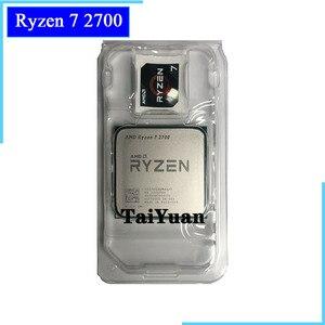 AMD Ryzen 7 2700 R7 2700 3.2 GHz Eight-Core Sinteen-Thread 16M 65W CPU Processor YD2700BBM88AF Socket AM4 New but without cooler