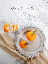 22*34 pouces Double face ciment Texture fond photographie Studio fond papier pour fruits nourriture Photoshoot fond