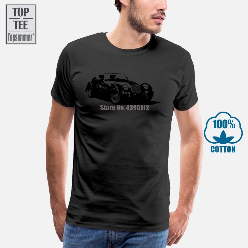Футболка в британском стиле, Классическая легенда о автомобиле Моргана, подарок для мужчин, мужская футболка 2019 для взрослых и больших мужчин, футболки для нападения