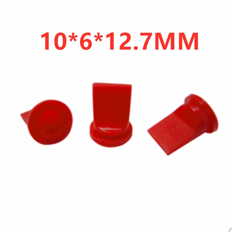 10PCS   10*6*12.7MM Food Grade Rubber Silicone Duckbill Valve Silicone Check Valve Medical Equipment