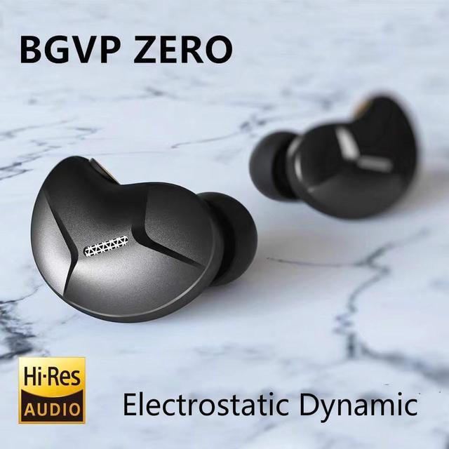 BGVP ZERO electrostático dinámico, Monitor de música HIFI, estudio de DJ, audiófilo, música, bajos, MP3, Auriculares deportivos, auriculares DM6, DM7, DMS