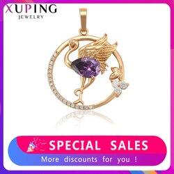 Xuping moda wisiorek w kształcie zwierząt nowy projekt kolorowe dla kobiet biżuteria złoty kolorowy platerowany dla kobiet moda prezent 35751