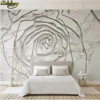 цена на beibehang  custom White abstract pattern Murals wallpaper for Living Room TV Background photo Wall paper Covering Home Decor