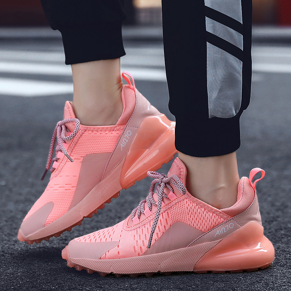 BOUSSAC Sneakers Women Light Weight Running Shoes Women Air Soles Breathable Zapatos De Mujer High Quality Couple Sport Shoes
