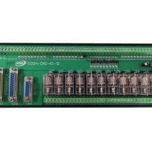 IO relay board with new 12 relay for CNC lathe or milling controller