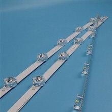 Tira de luz fundo tv para lg 32lb565u 32lb570u 32lb572u led strip kit retroiluminação barras para lg 32lb580u 32lb582u lâmpadas banda led matriz