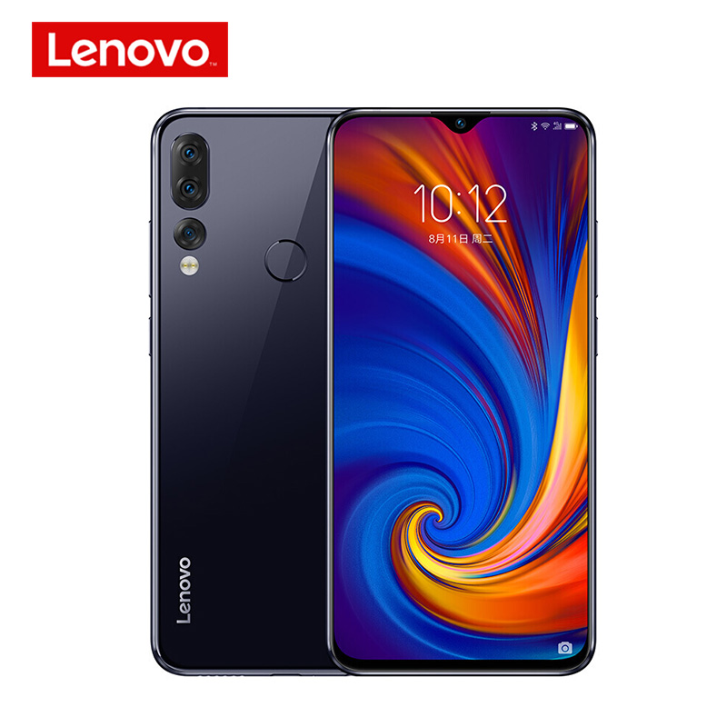 GLOBAL ROM Lenovo Smartphone Z5S 6GB 64/128GB Mobile Phone 6.3 Inch 2340*1080 Rear AI Zoom 3 Camera Octa Core 710 Processor