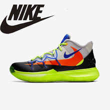 NIKE KYRIE 5 EP New Arrival Men Basketball Shoes Original Air Cushion Lightweight Breathable Sports Sneakers #AO2919