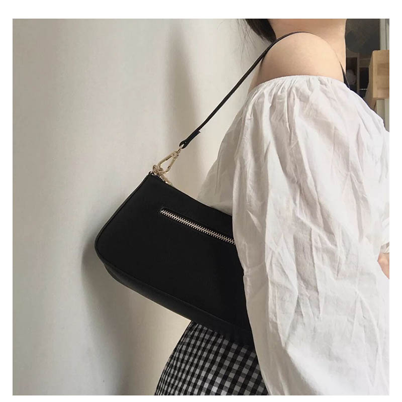 Canvas Tote Women Small Shoulder Bag Lady's Vintage Messenger Bag Fashion Subaxillary bags Kandall Luxury Brand Bolsa A143