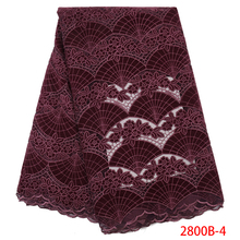 Wholesale Velvet Lace Fabrics New Arrival Fashion African Lace Fabric for Wedding Party High Quality Nigerian Mesh Lace APW2800B