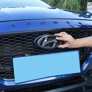 Передняя решетка автомобиля эмблема на багажник Стикеры для Hyundai Lafesta Mistra 2019 решетка эмблема с логотипом задняя наклейка модификации аксессуары