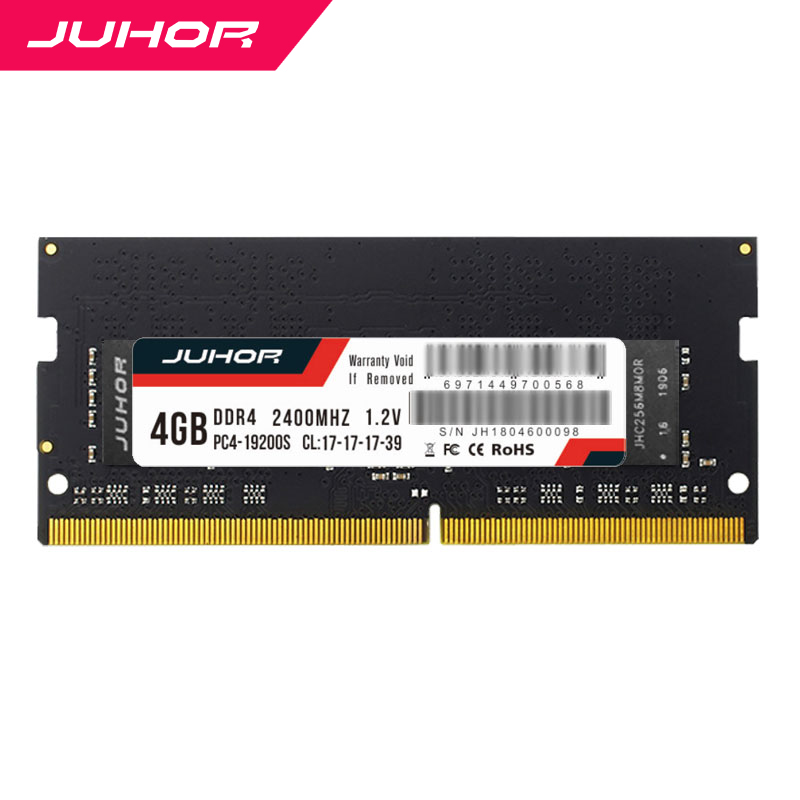 Juhor Memory Ddr4 8 GB 16gb 2400-Mhz Memoria Ddr 4 4 Gb For Notebook With Fast Shipping