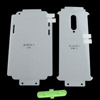 25D funda de cuerpo entero de hidrogel película para Oneplus 7 8T 7T 8T 9 Pro frente + trasero Protector de pantalla suave Nano Gel (no de vidrio)