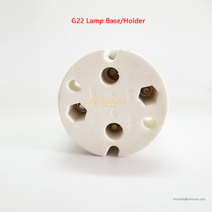 Image 5 - Litewinsune FREESHIP מנורת בסיס מנורת בעל מנורת שקע GY9.5 GX9.5 GX16 G15 G22 עבור שלב תאורת מנורה